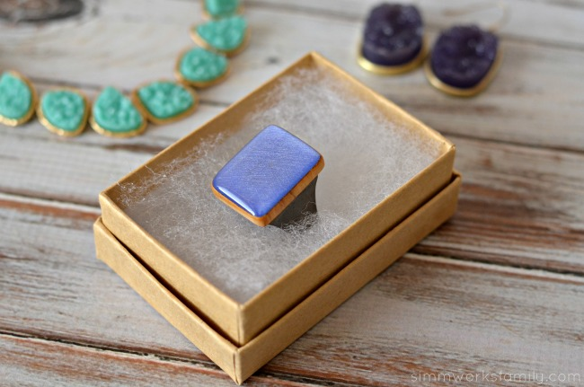 9th and Elm starlight woods periwinkle ring Fashionable Accessories