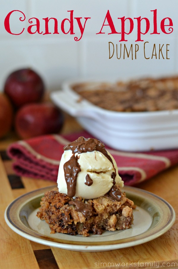 Candy Apple Dump Cake