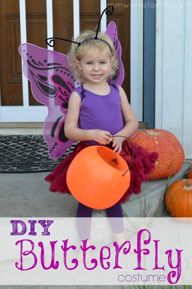 DIY Butterfly Costume Tutorial