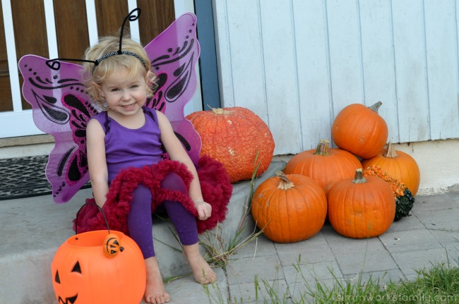 DIY Butterfly Costume for girls