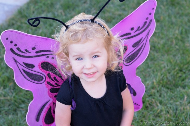 halloween safety tips stride rite butterfly costume