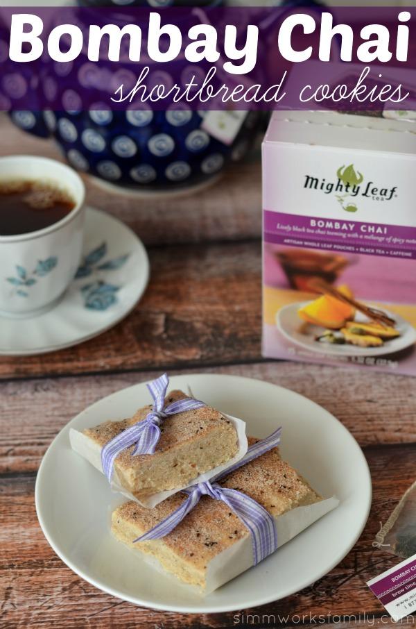 Bombay Chai Shortbread Cookie Recipe pinterest
