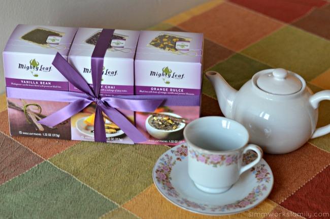 Mighty Leaf tea gift set
