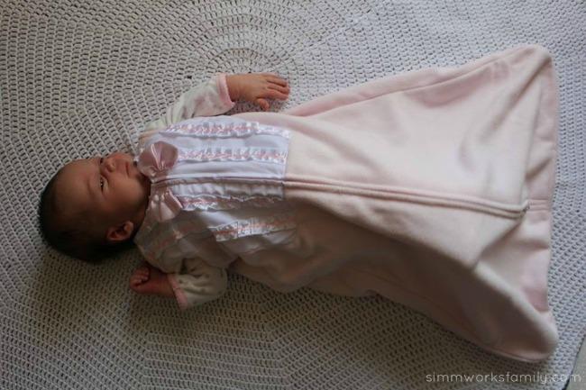 Safe Sleep Environment for Infants Halo SleepSack in Pink