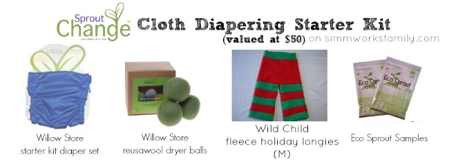 Sprout Change Cloth Diapering Starter Kit