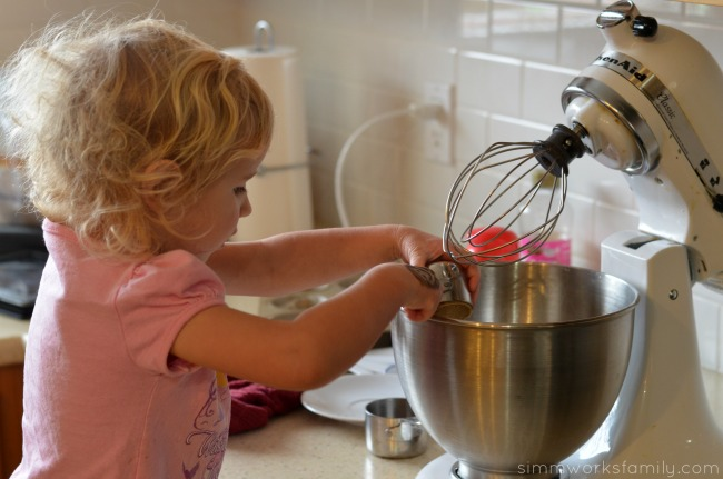 Sticky Buns mixing ingredients #loveyourcup #shop