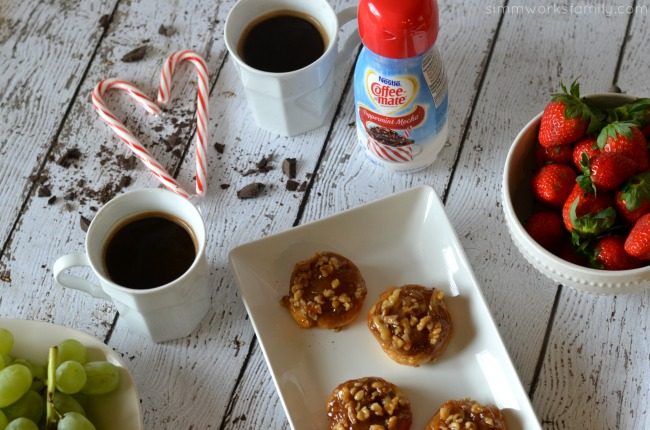 Sticky Buns with coffee #loveyourcup #shop