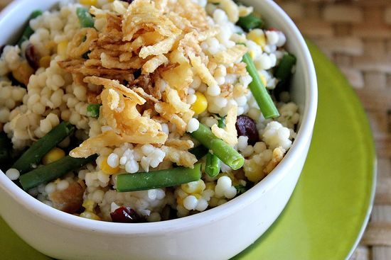Thanksgiving-recipes turkey cous cous salad