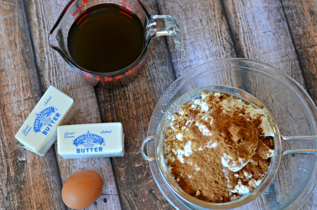 gingerbread cake ingredients with land o' lakes #shop