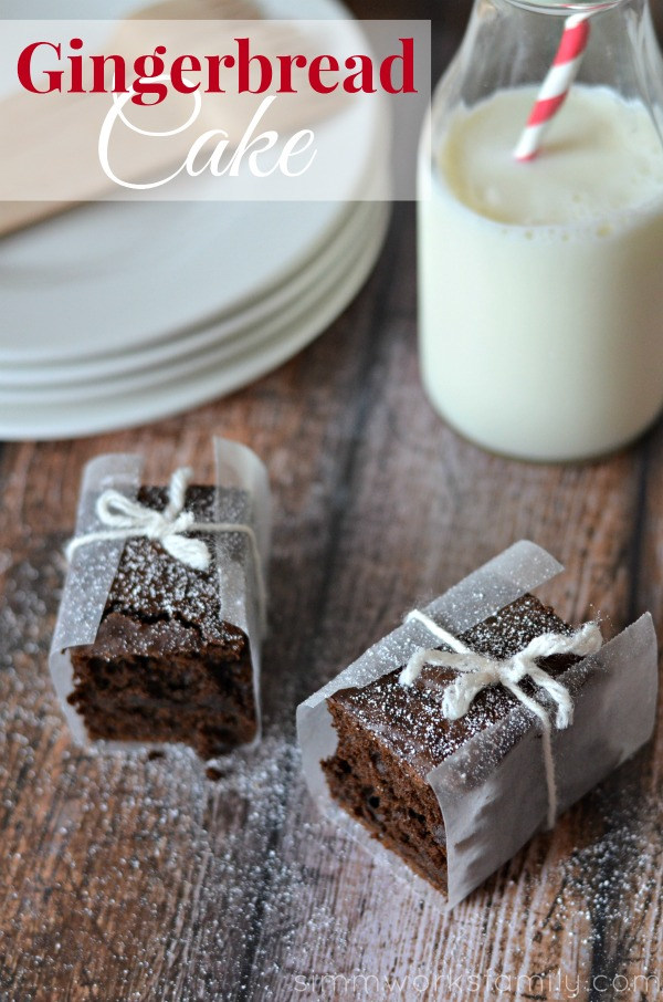Gingerbread cake - This gingerbread cake is not only full of spices and yum, it's also not overly sweet. It goes great with a nice cup of coffee or a scoop of ice cream.