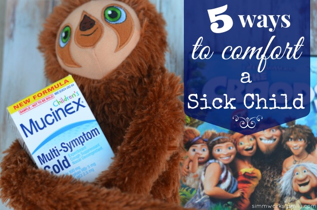 5 ways to comfort a sick child