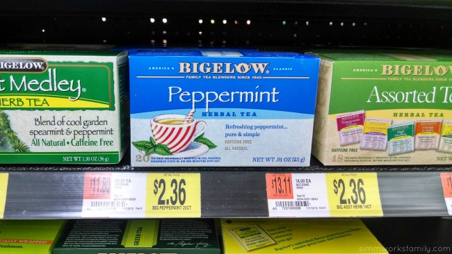 Bigelow Tea at Walmart