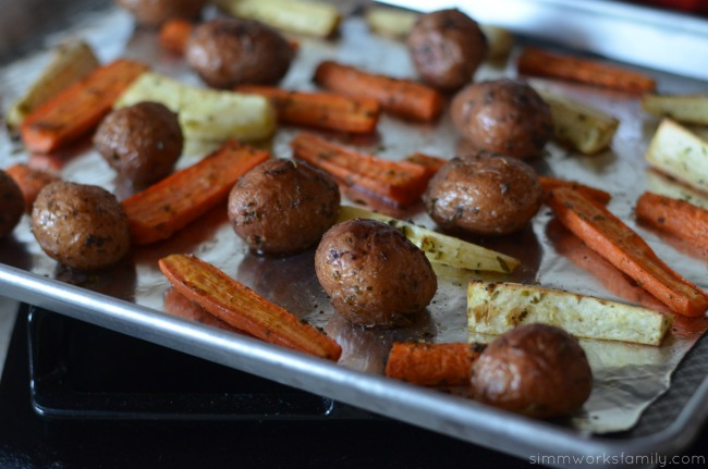 Campbell's Slow Cooker Success roasted sides