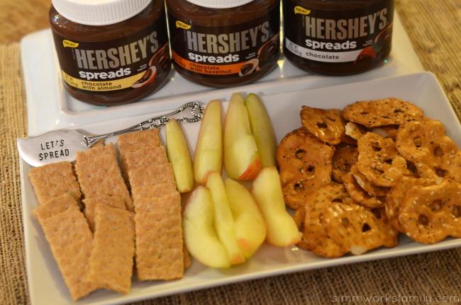 Easy Kid Friendly Holiday Desserts spread #SpreadPossibilities #hersheysheroes