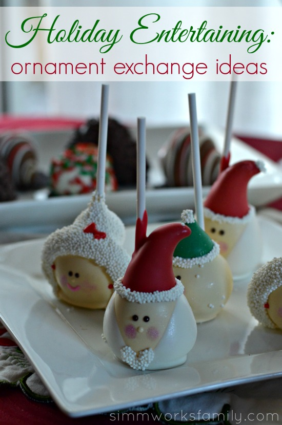 Holiday Entertaining Ornament Exchange Ideas