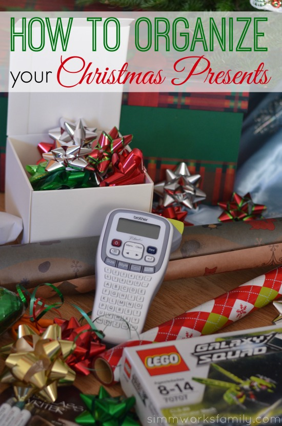 How to Organize Your Christmas Presents