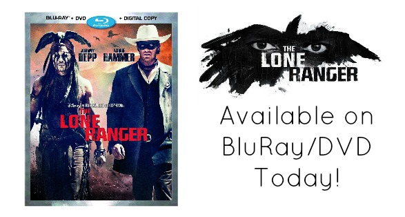 The Lone Ranger on BluRay Today