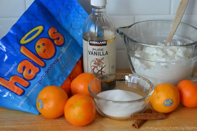 Mandarin Orange Cream Pops ingredients