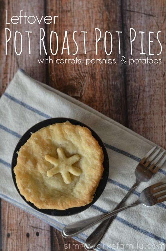 Pot Roast Pot Pies #CampbellsSkilledSaucers