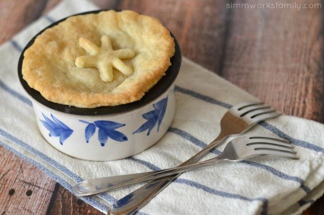 Pot Roast Pot Pies baked #CampbellsSkilledSaucers