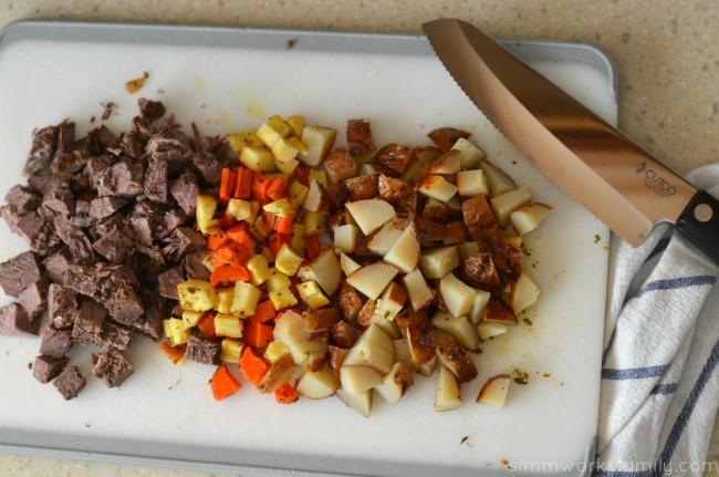 Pot Roast Pot Pies ingredients #CampbellsSkilledSaucers