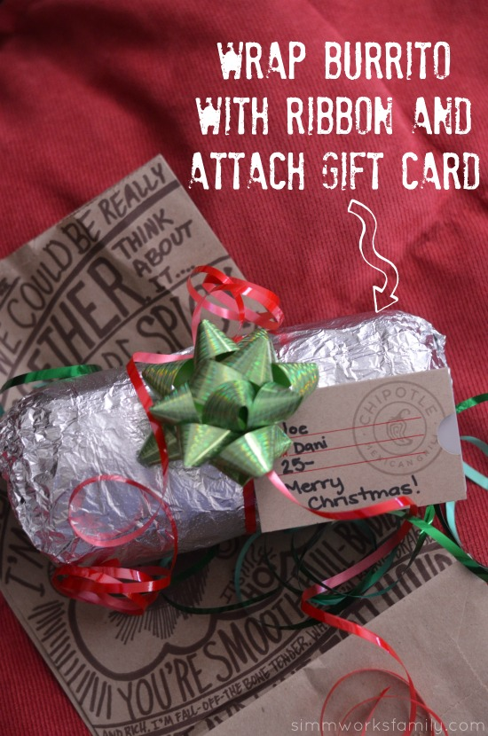 Unique Gift Wrapping Ideas for Gift Cards attach gift card