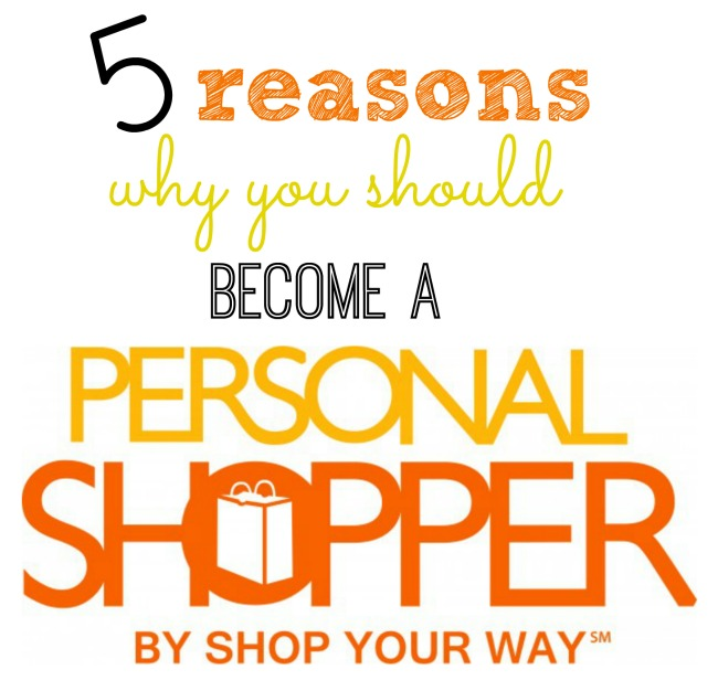 Why you should become a personal shopper by shop your way