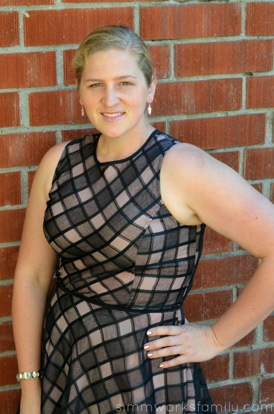 eShakti Date Night Dress close up