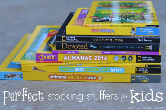 perfect stocking stuffers for kids national geographic book collection