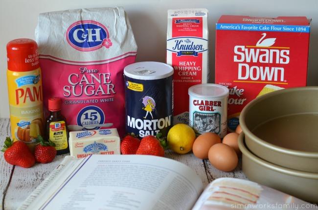 white party cake ingredients