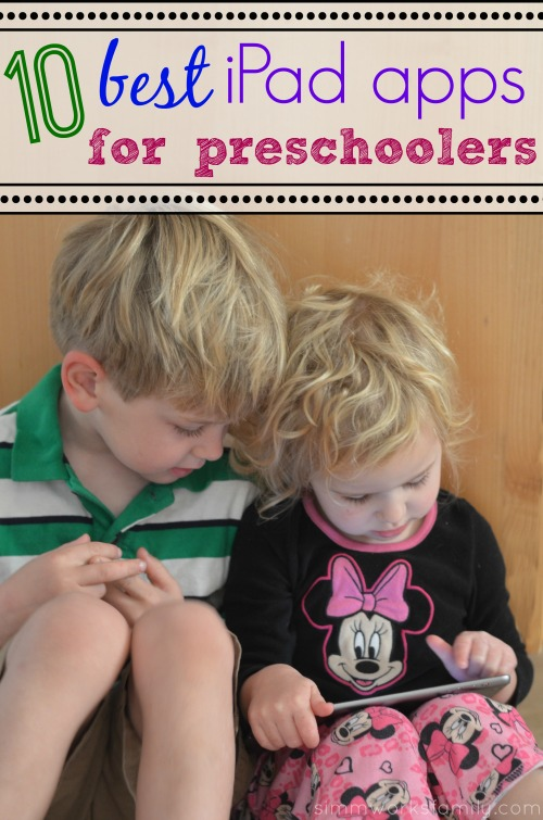 10 best ipad apps for preschoolers