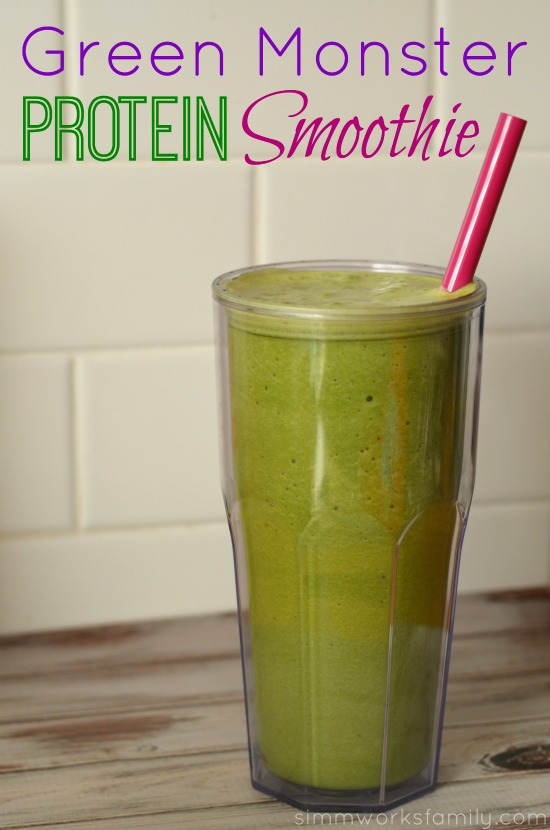 Green Monster Protein Smoothie