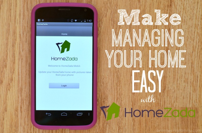 HomeZada managing your home