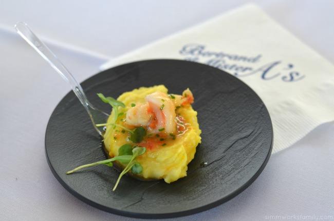 San Diego Restaurant Week Bertrand at Mister A's Shrimp Scampi Provencale