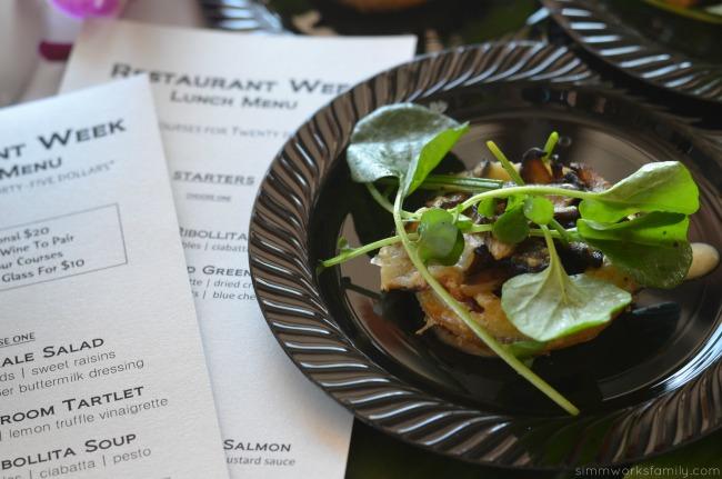 San Diego Restaurant Week Pacifica Del Mar Wild Mushroom Tartlet