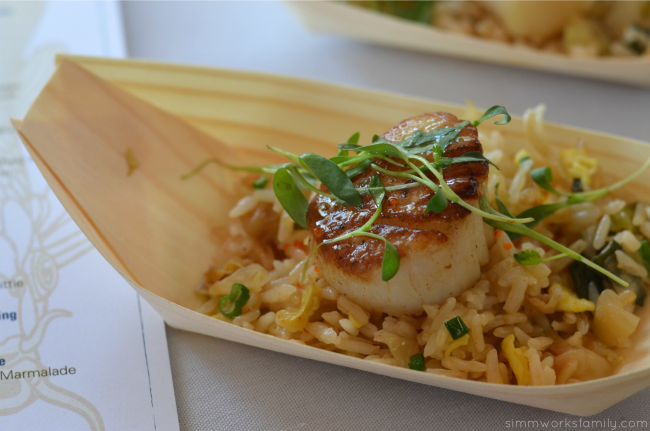 San Diego Restaurant Week Roppongi La Jolla Seared Sea Scallops
