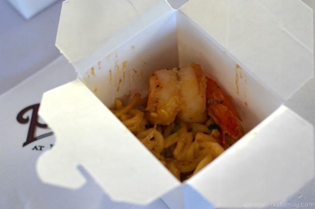San Diego Restaurant Week The Prado Thai Style Shrimp and Noodle Pasta