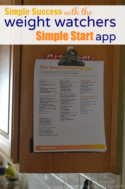 Weight Watchers Simple Start App success  #SimpleStart