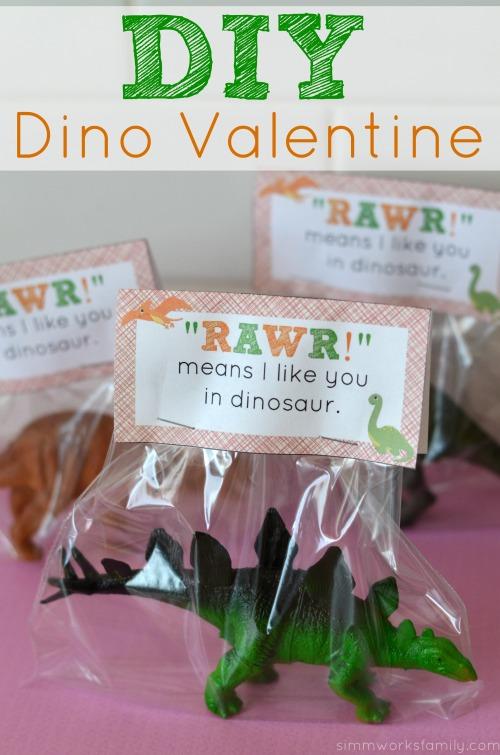 dinosaur valentine printable