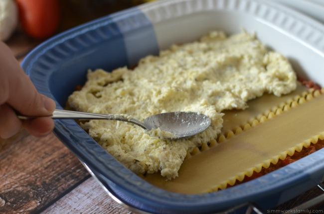 lasagna recipe cheese mixture  #luvsofab14