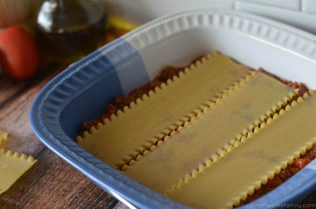 lasagna recipe layer noodles #luvsofab14