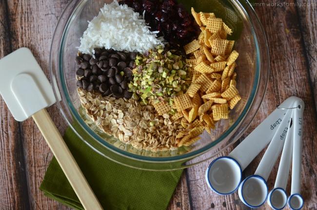 pistachio granola bar recipe ingredients