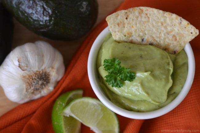 creamy tomatillo avocado sauce