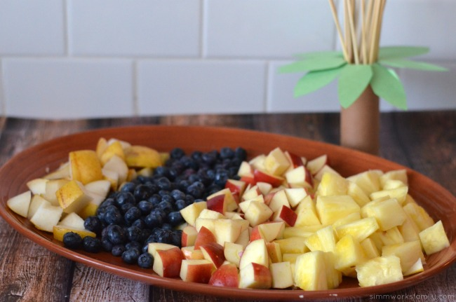 movie night ideas fresh fruit plate