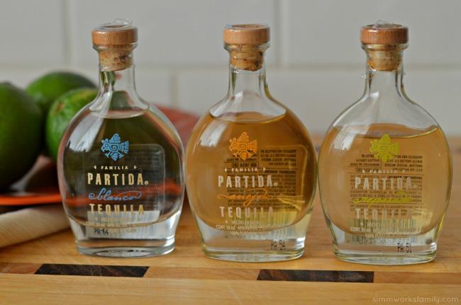 partida skinny margarita tequila