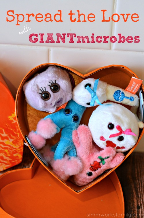 spread the love with giantmicrobes