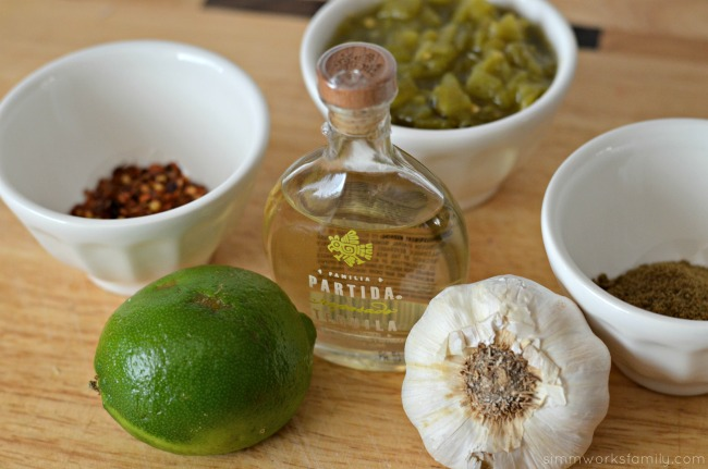 tequila lime pork tacos ingredients