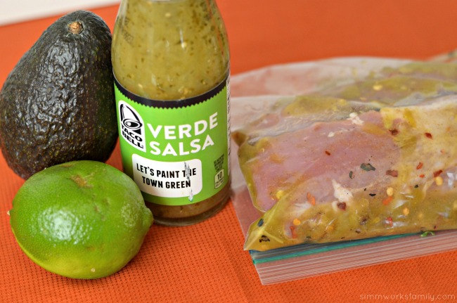 tequila lime pork tacos marinate pork