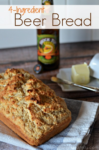 4 Ingredient Beer Bread