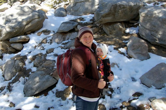 Ergo Carrier with Molly Hiking